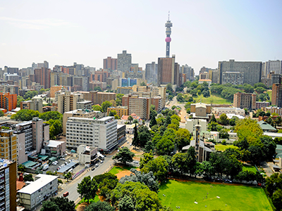 Johannesburg Flight Price £398