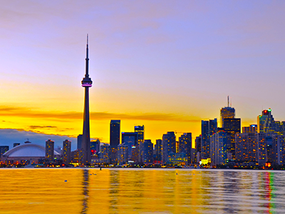 Toronto Flight Price £250